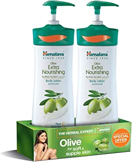 Himalaya Body Lotion Olive Extra Nourishing, 2 x 400 ml