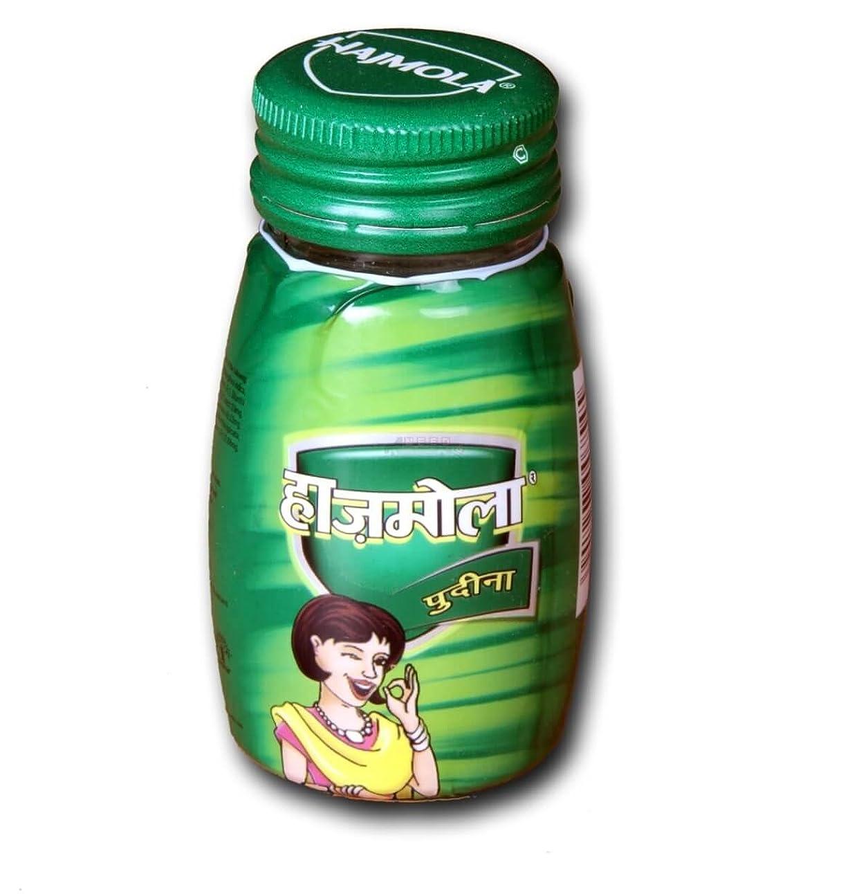 豆比類なき沿ってDabur Hajmolaタブレット?–?120?Tablets ( Pudina Flavour )