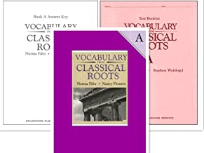 Vocabulary from Classical Roots A SET (Grade 7) -- Student Book, Test Booklet and Answer Key