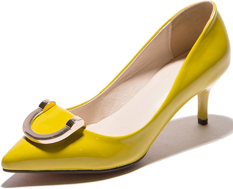 SaraIris Women's Stiletto High Heel Metal Decoration Court shoes Party Wedding Pumps