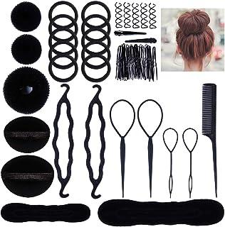 Lictin Accesorios de Peinado Kit Set para Mujeres; Set de