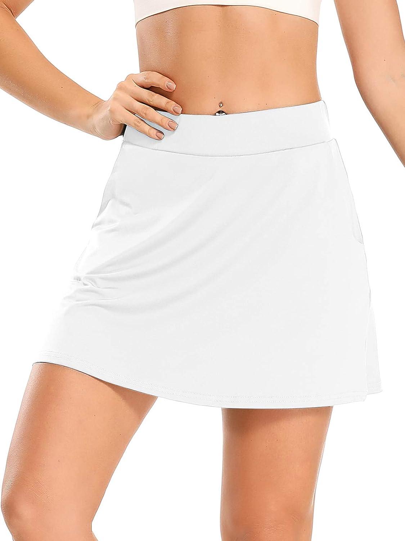 Hubunucc Women's Athletic unisex Skorts Outlet ☆ Free Shipping Lightweight Active Skirt Tennis