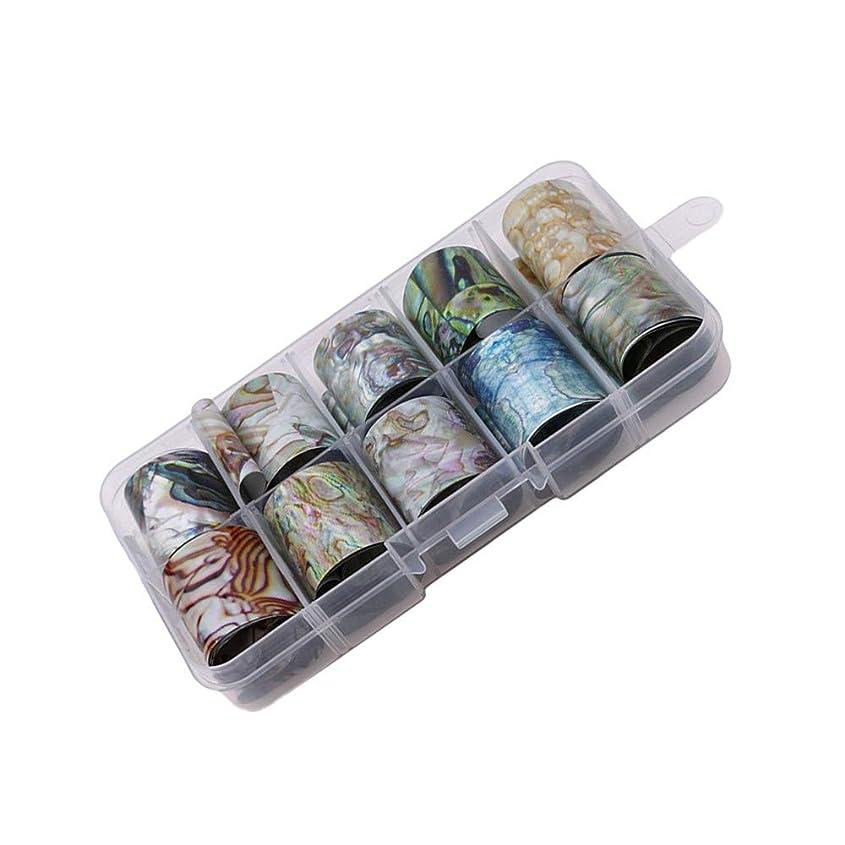 分割主流カール1st market プレミアム品質星空ネイルアートステッカーのヒントラップ箔転写接着剤グリッターアクリルdiyの装飾