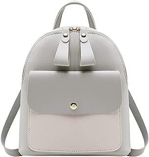 PU Leather Backpack Mini Rucksack Purse - Women Girls Ladies Shoulder Bag Travel bag School Bag