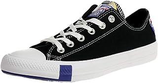 Chuck Taylor All Star Ox Logo Play Black/Rush Blue Canvas...