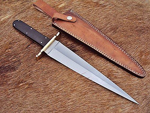 RAM-DG-207 Handmade Hi Carbon Steel 15.5 Inches Full Tang Dagger Knife