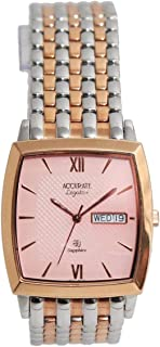 Casual Watch for Men by Accurate, Multi Color, Square, AMQ1004RGT