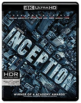 Inception  4K Ultra HD  [Blu-ray]