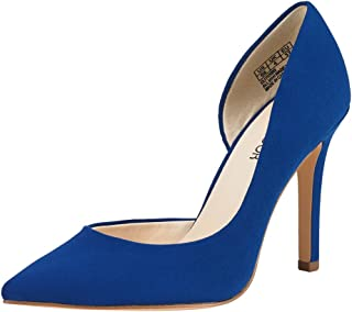 Stiletto High Heel Shoes for Women: Pointed, Closed Toe Classic Slip On Dress Pumps