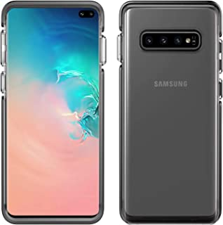 Pelican Samsung Galaxy S10+ Case - Ambassador (Clear/Black with Silver Button)