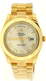 new rolex mens presidential gold