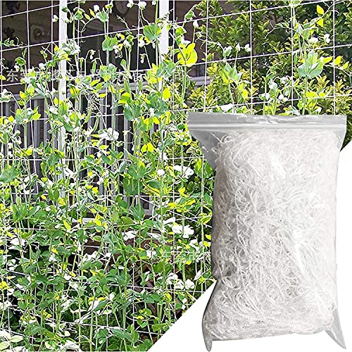 Namvo Red de enrejado para plantas hidropónicas, 3 m x 10 m, malla de poliéster resistente para plantas de jardín, malla de malla suave para plantas trepadoras de flores, jardín y vegetales