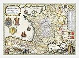 Jakobsweg [Bewahrer] Karte Chemins de Saint Jaques de