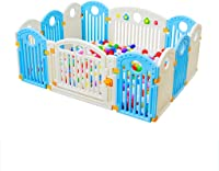 GWFVA Baby Fence Playboard Floor Activity Sign Child Safety Game Zone made of non-toxic materials