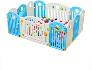 GWFVA Baby Fence Playboard Floor Activity Sign Child Safety Game Zone made non-toxic materials