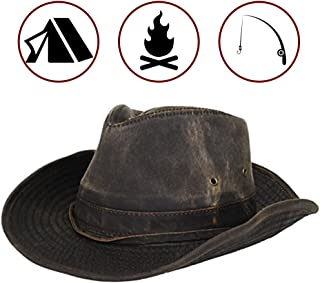 d27041b6054 Dorfman Pacific Men s Outback Hat with Chin Cord