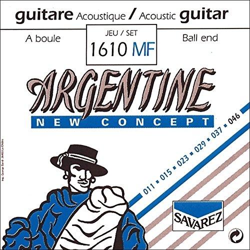 Savarez Cuerdas Para Guitarra Acustica Argentine Mi1-1011Mf Con Lazo
