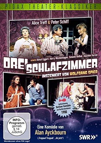 Drei Schlafzimmer - Komödie von Wolfgang Spier (Pidax Theater-Klassiker)