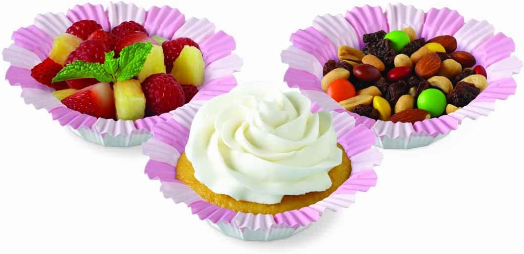 Wilton Silicone Standard Baking Cups, 12 Count, Flower