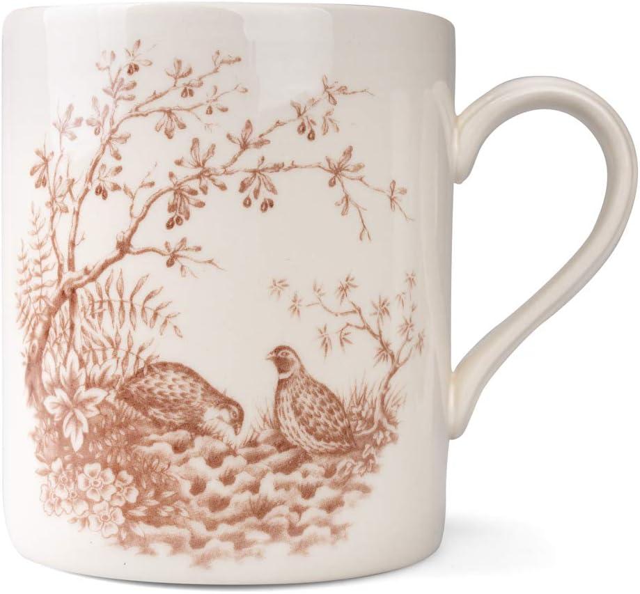 Colorado Springs Mall Cuthbertson discount Brown Quail Mug of Set 4