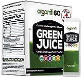 Organifi: GO Packs - Green Juice - Organic Superfood Supplement Powder - 30ct - USDA Certified...
