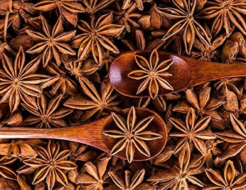 (1 LB ) 100%ALL Natural- Organic Sun Dried Star Anise ,Star Aniseed