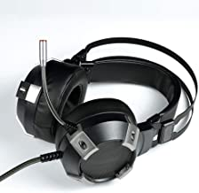 LEZDPP E-Sports Game Headset Channel Headset Subwoofer Computer Headset Gaming Headset USB Single Interface -7.1