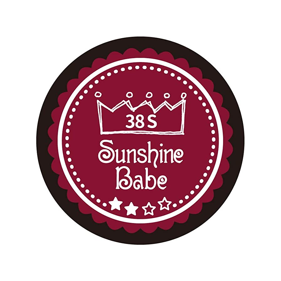 ショップブート流出Sunshine Babe カラージェル 38S レッドペア 4g UV/LED対応