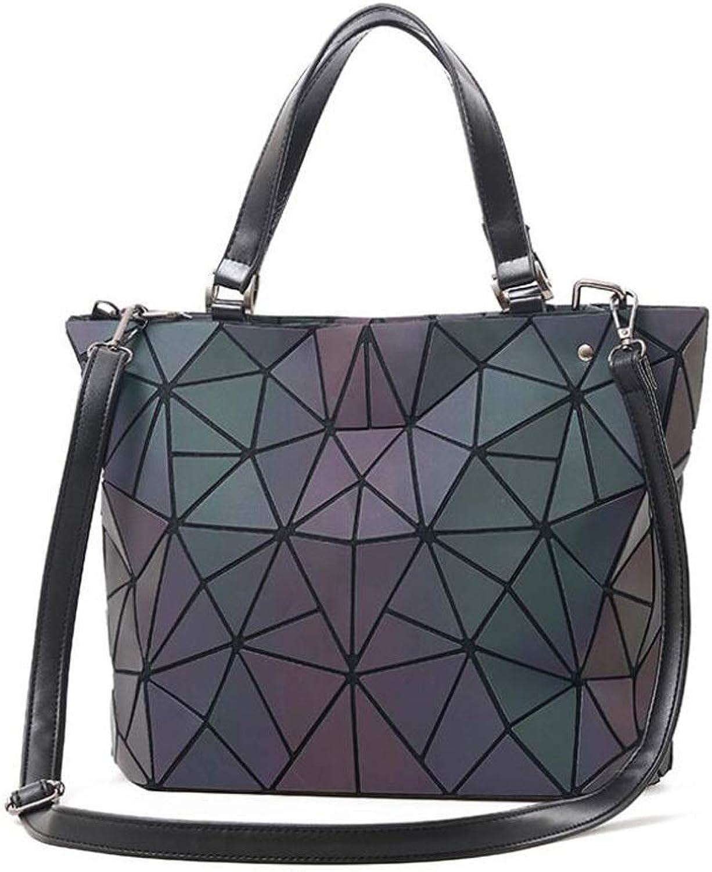 Lingge Nebellicht Farbverlauf Handtasche Mode Mode Mode Damen Umhängetasche Lichtpaket Multifunktionstasche (Farbe   A, größe   OneGröße) B07PLGG9QC  Angenehmes Gefühl 021b8e