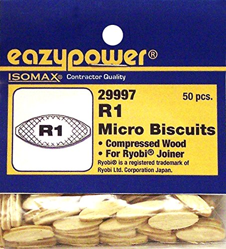 Eazypower 29997 R1 Mini Joiner Biscuits for Ryobi Joiner (50 Piece)