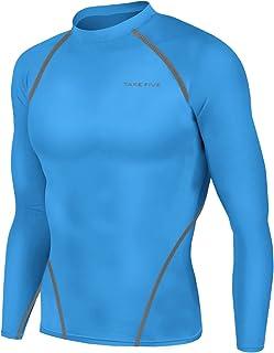 ملابس رياضية جديدة للرجال طويلة الأكمام ملابس جلدية ضيقة أسفل طبقة علوية