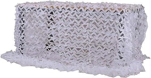 Ljdgr Filet Camo Visière Extérieure GR Réseau de Camouflage armée réseau léger et Durable décoration Pare-Soleil écran Solaire Blanc 2mx3m (Taille  4 Fois; 10 mètres) Armée Camo Filet (Taille   3×9m)