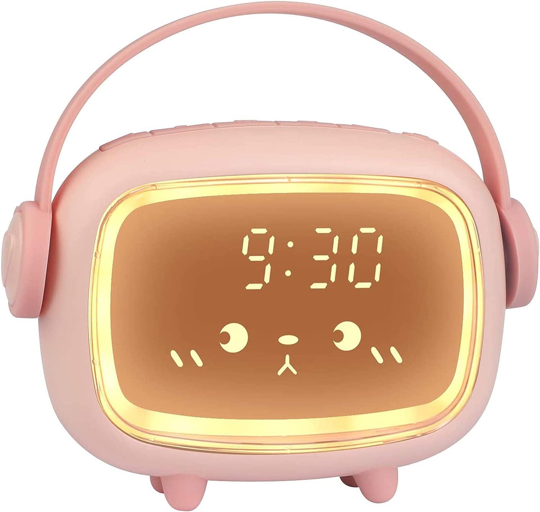 GDXFSM Cartoon Alarm Clock for C Children Digital Brand new Wake-Up Manufacturer direct delivery
