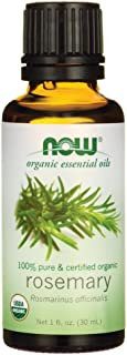NOW Foods Rosemary Oil Certified Organic 1 fl oz (30 ml) Liquid
