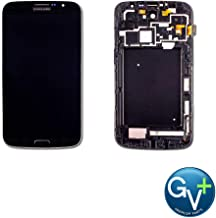 Group Vertical Replacement Touch Screen Digitizer LCD Frame Display Assembly Compatible with Samsung Galaxy Mega 6.3 (GT-i9200, i9205, SGH-i527, M819N, SPH-L600, SCH-R960) (Black) (GV+ Performance)