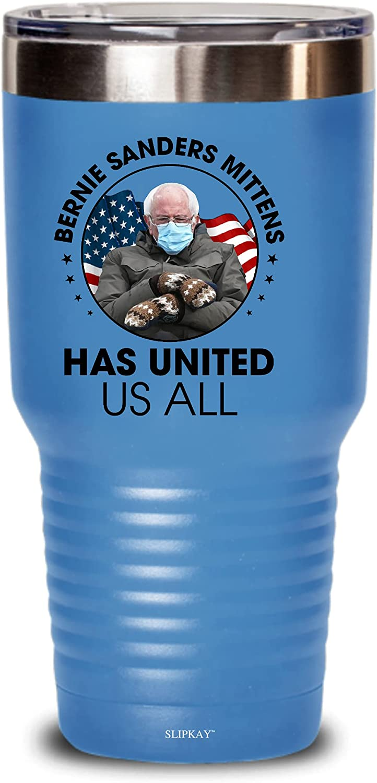 Bernie Sanders Mittens Has United Us All Tumbler 30oz,Gifts