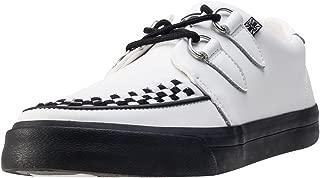 White Leather VLK Creeper Sneaker
