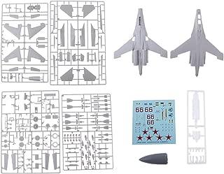 sharprepublic Maquetas De Aviones De Combate A Escala 1: 144 WWII USAF P-38j Airplane - Su-27UB (Escala 1/48, 45cm Largo)