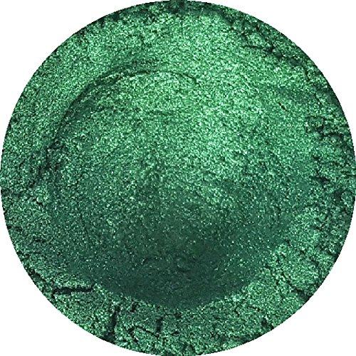 TheSoapery Mica-Puder, 3- 20 g, zur Herstellung von Seife, Lidschatten, Badekugeln, Smaragdgrün
