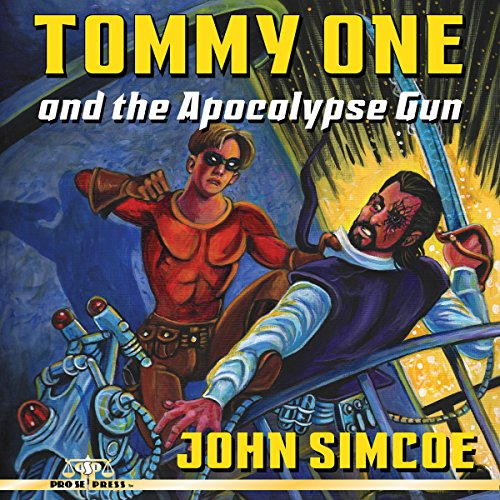 Tommy One and the Apocalypse Gun audiobook cover art