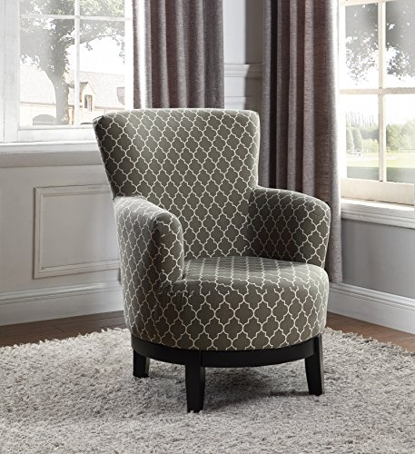 NHI Express London Swivel Accent Chair, Regular