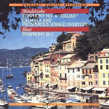 Mendelssohn - Symphony No. 4 / Calm Sea and Prosperous Voyage - Bizet - Symphony in C Major