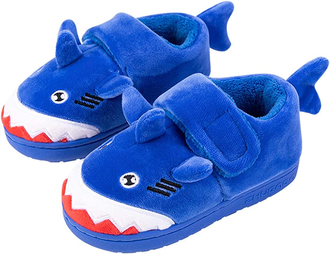 Toddler Boys Girls Warm Dinosaur House Ranking TOP3 Shar At the price Slippers Kids Fluffy