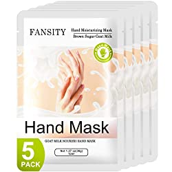 FANSITY 5 Pack Moisturizer Natural Therapy Hand Spa Mask