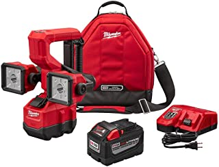 Milwaukee M18 18-Volt Lithium-Ion Cordless Utility Bucket Light Kit W/High Demand 9.0Ah Battery, Rapid Charger & Tool Bag 5.0 Out of 5 (5) Write a Review