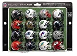 Product Image of the NFL Pro Football Helmet Playoff Tracker