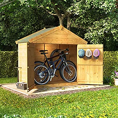 BillyOh 6x3 Bike Shed Tongue and Groove
