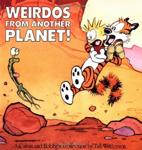 Weirdos from Another Planet! by Bill Watterson (1990) Paperback