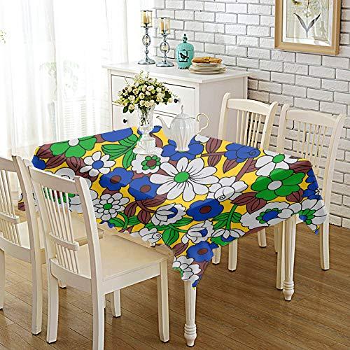 DREAMING-Verdickte Bedruckte Stoff Tischdecke Home Esstisch Stoff Tv-Schrank Couchtisch Stoff Runde Tisch Tischset 140cm * 140cm