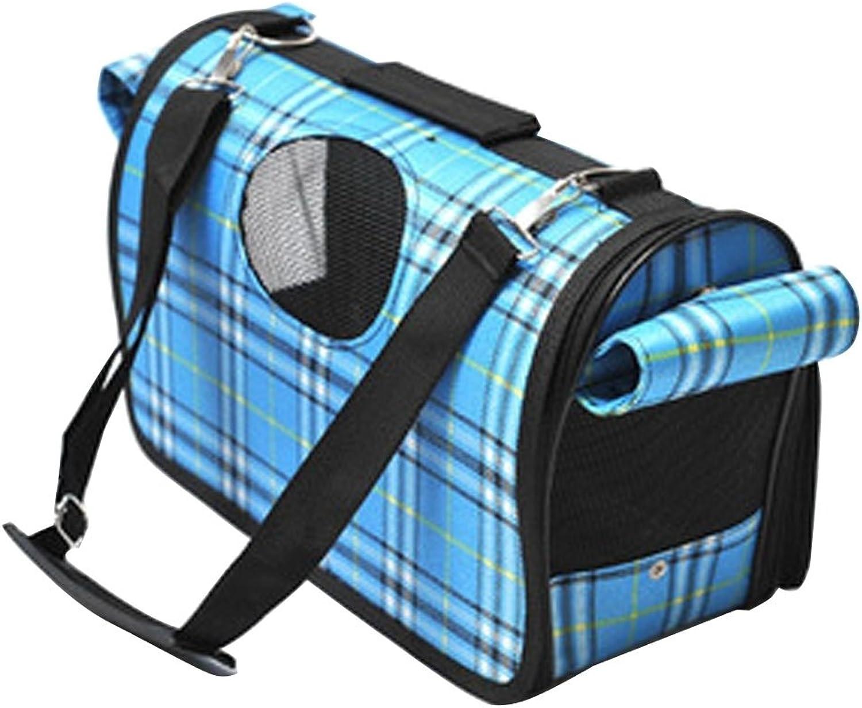 Pet Supplies Portable Pet Handbag Shoulder Bag for Cat Dog and oher Pets Large, Size 50  30  22cm (color   bluee)